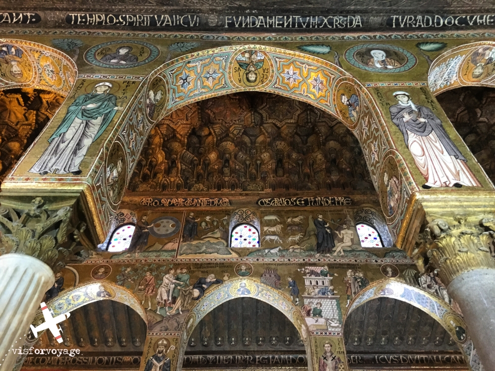 PALERMO cappella palatina con LOGO