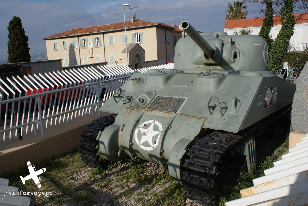 Marsiglia carro armato