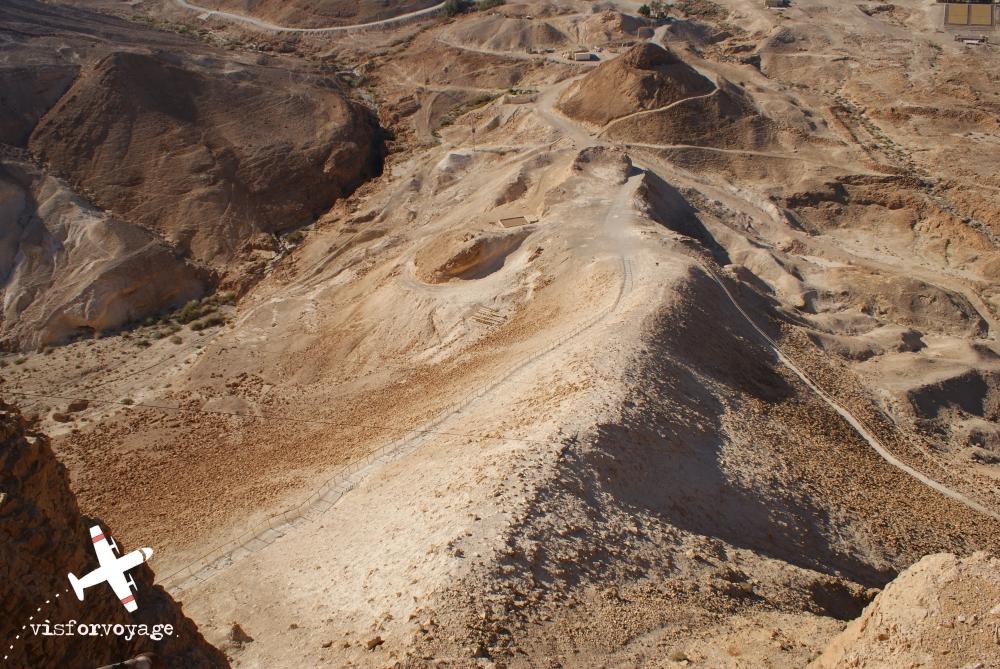 La rampa di Masada