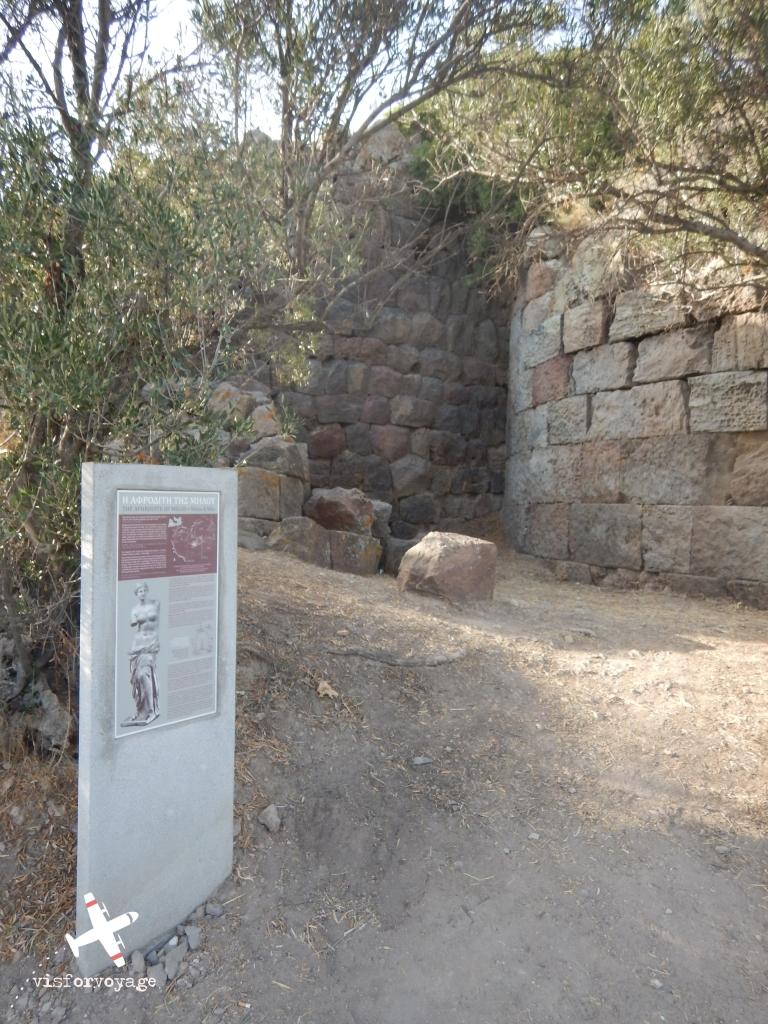 Il luogo in cui è stata trovata la Venere di Milo (e ora l'isola la  rivuole) –